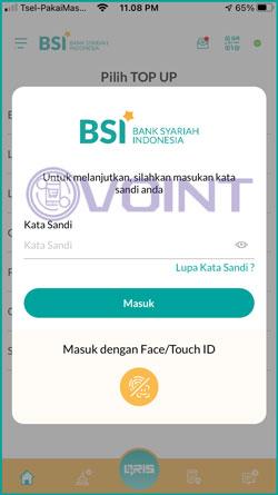 4 Masukkan Password BSI Mobile