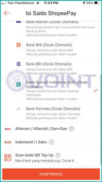 4 Pilih Bank BSI