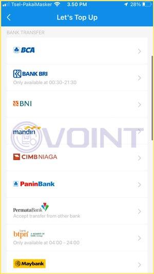 4 Pilih Bank