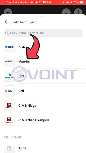 5 Pilih Bank Mandiri