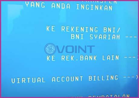 6 Pilih Virtual Account Billing