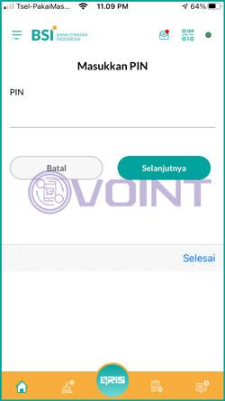 7 Input PIN Transaksi