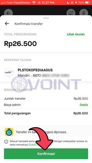 8 Konfirmasi Pembayaran