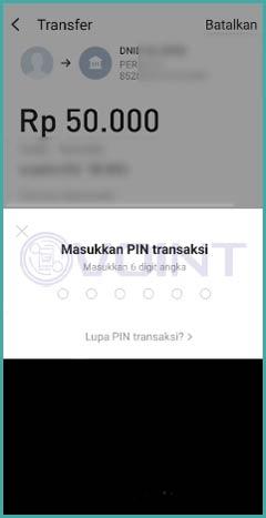 Input PIN Line Bank