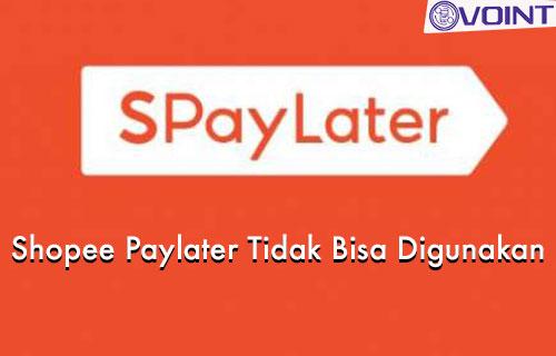 Penyebab dan Cara Mengatasi Shopee Paylater Tidak Bisa Digunakan