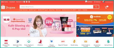 1 Buka Situs Shopee