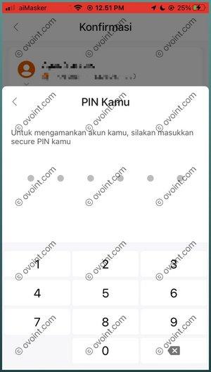11 Masukkan PIN Tranaksi SeaBank