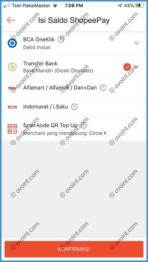 4 Pilih Metode Transfer Bank