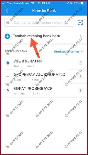 5 Tambah Rekening Bank
