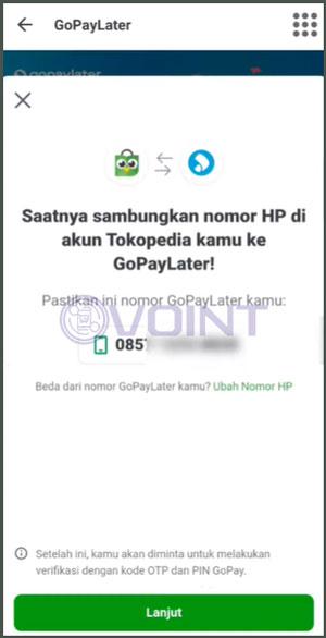 4 Konfirmasi Nomor HP