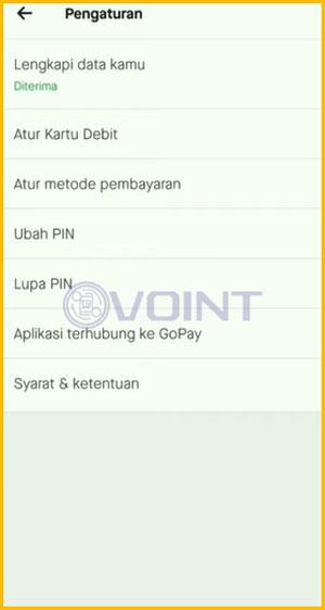 5 Lakukan Ganti PIN GoPay