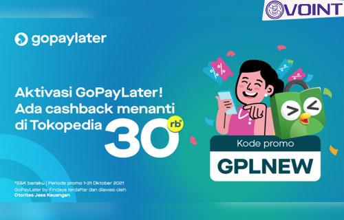 Cara Menghubungkan GoPay Paylater ke Tokopedia