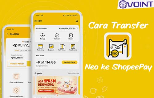 Cara Transfer Neo ke ShopeePay dari Syarat dan Biaya