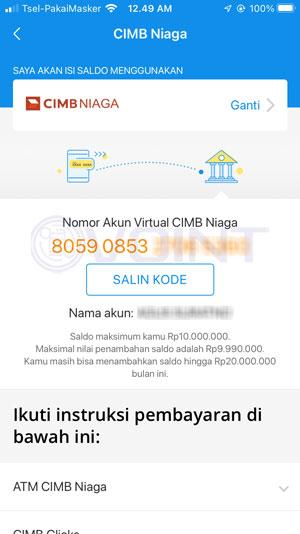 Catat Kode Pembayaran