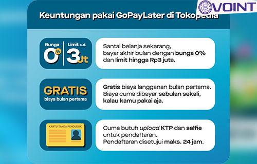 Keuntungan Menghubungkan GoPaylater ke Tokopedia